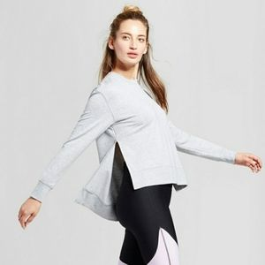 Joy Lab Gray Cozy Layering Sweatshirt